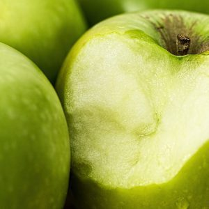 zielone jabłka dieta dla białych zębów